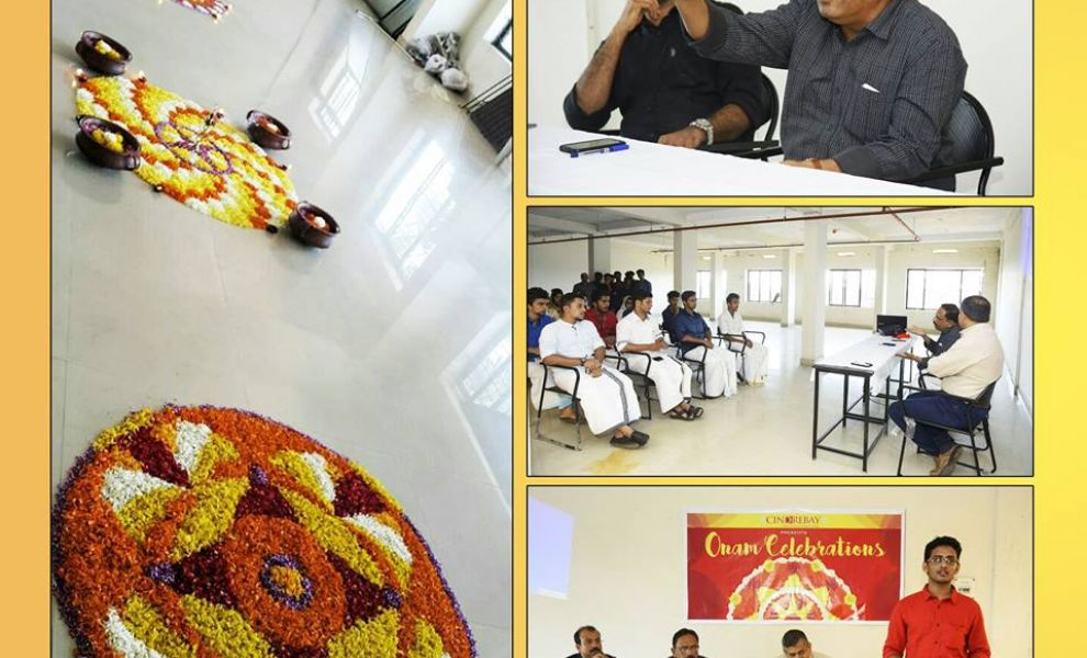 Onam Celebration With Students & Faculty Of Cindrebay
